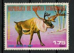 Guinée Equatoriale - Guinea 1977 Y&T N°(2) - Michel N°(?) (o) - 1,75e Animaux D'Amérique Du Nord - Equatorial Guinea