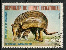 Guinée Equatoriale - Guinea 1977 Y&T N°(3) - Michel N°(?) (o) - 2,50e Animaux D'Amérique Du Sud - Equatorial Guinea