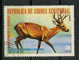 Guinée Equatoriale - Guinea 1977 Y&T N°(4) - Michel N°(?) (o) - 3e Animaux D'Amérique Du Sud - Equatorial Guinea