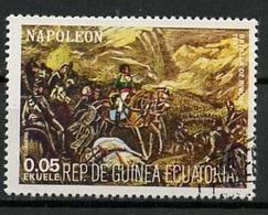Guinée Equatoriale - Guinea 1977 Y&T N°(6) - Michel N°(?) (o) - 0,05e Napoléon - Guinée Equatoriale