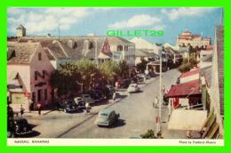 NASSAU, BAHAMAS - BAY STREET - ANIMATED WITH OLD CARS - PHOTO BY FREDERIC MAURA - - Bahamas