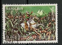 Guinée Equatoriale - Guinea 1977 Y&T N°(7) - Michel N°(?) (o) - 0,10e Napoléon - Equatorial Guinea