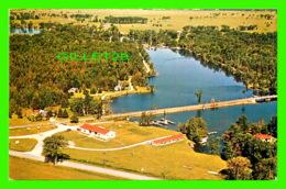 BOLSOVER, ONTARIO - PORT OF CALL, MARINA & BOATEL ON TRENT CANAL - PETERBOROUGH POST CARD CO - - Ontario