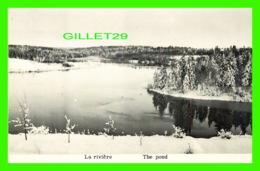 ROGERSVILLE-NORD, NB - LA RIVIÈRE, LES PÈRES TRAPPISTES, MONASTÈRE DE N.-D. DU CALVAIRE - ÉCRITE - - Nouveau-Brunswick