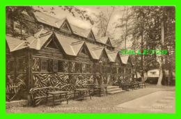 MORAY, SCOTLAND - THE OAKWOOD RUSTIC TEA GARDENS - RAPHAEL TUCK & SONS LTD - MOBIL HOME - - Moray