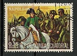 Guinée Equatoriale - Guinea 1977 Y&T N°(9) - Michel N°(?) (o) - 0,35e Napoléon - Equatorial Guinea