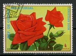 Guinée Equatoriale - Guinea 1979 Y&T N°(2) - Michel N°(?) (o) - 4e Rose Dior - Guinée Equatoriale