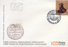 2017 FDC, Historical Heritage, Montenegro, MNH - Montenegro