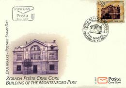 2017 FDC, Stamp Day, Montenegro Post, Montenegro, MNH - Montenegro
