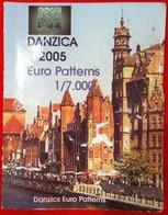 En État Rare Coffret Série 8 Pièces Euros Probe Essaie Danzica Année 2005 Édité À 7 000 Exemplaires Seulement ! Pro ! - EURO