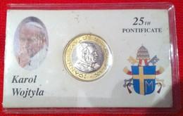 Rare Coffret Pièce De 2 Euros Probe Essaie Vatican Année 2005 Coffret Édité À 15 000 Exemplaires Seulement ! Pattern Pro - Vatican