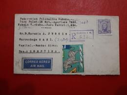 La Cuba Enveloppe Circulé Avec Vignette Une Sécurité Routière Une Ligne De Zèbre - Unfälle Und Verkehrssicherheit
