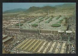 Saudi Arabia Picture Postcard Aerial View Holy Nimra Mosque Islamic View Card - Saudi Arabia