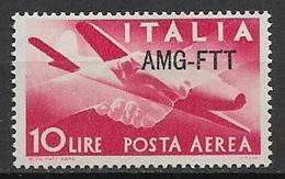 TRIESTE AMG-FTT. 1949-52  POSTA AEREA DEMOCRATICA SASS. 20 MLH VF - Trieste