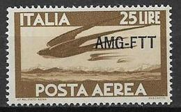 TRIESTE AMG-FTT. 1949-52  POSTA AEREA DEMOCRATICA SASS. 21  MLH VF - Unclassified