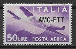 TRIESTE AMG-FTT. 1949-52  POSTA AEREA DEMOCRATICA SASS. 22 MLH VF - 7. Trieste