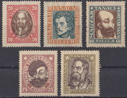 UNGHERIA - 1919 - Serie Completa Nuova MH: Yvert 240/244, 5 Valori, Come Da Immagine. - Ungheria