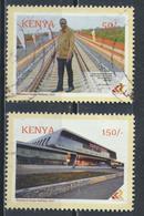 °°° KENYA - NAIROBI MOMBASA RAILWAY STATION - 2017 °°° - Kenya (1963-...)