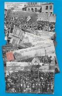 TOP CPA 03 MONTLUCON Allier (Série De 1 à 8) La MANIFESTATION Du 1er MAI ° G. Chaumont ** Ouvriers Syndicalisme Travail - Syndicats