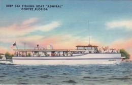 "Florida Cortez Deep Sea Fishing Boat ""Admiral"" - Bradenton"