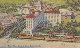 Florida Miami Beach Roney Plaza Hotel 1950 - Miami Beach