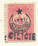 Timbre Turc 20 Paras  Petite Surcharge   «Cilicie»  Yv 30* - Cilicia (1919-1921)