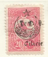 Timbre Turc 20 Paras Orphelins -  Surcharge   «T.E.O. Cilicie»  Yv 67* - Cilicia (1919-1921)