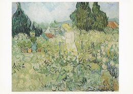 Art - Vincent Van Gogh - Mmlle. Gachet In Her Garden At Auvers-sur-Oise, 1890, Musée D'Orsay, Paris, France - Pintura & Cuadros