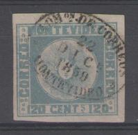 URUGUAY:  N°4 Oblitéré (signé BRUN)       - Cote 650€ - - Uruguay