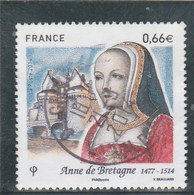 FRANCE 2014 ANNE DE BRETAGNE OBLITERE A DATE YT 4834  - - France