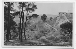 ENVIRONS DE TOULON - N° 150 - LE FORT D' ARTIGUES -  Ed. BOUVET SOURD - FORMAT CPA NON VOYAGEE - Toulon