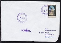 POSTE ITALIANE T/n MICHELANGELO 5.4.68 Auf Brief, Brief 1 Ecke Beschädigt - Timbres