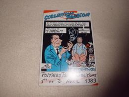 BELLE ILLUSTRATION ...POITIERS PARC DES EXPOSITIONS 1989 ...SIGNE C. BERG - Bourses & Salons De Collections