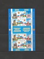 AZERBAIJAN 2006. Azerbaijan- Russia  INPERFORATED Shett - Azerbaïjan