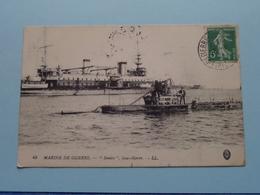 """"""" BONITE """" Sous-Marin / Marine De Guerre ( 45 - LL ) - Anno 1915 ( Voir Photo Details ) ! - Sous-marins"""