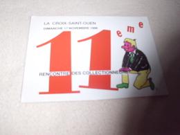 11E RENCONTRE DES COLLECTIONNEURS LA CROIX SAINT-OUEN 1996 ..SIGNE BENSAALI - Bourses & Salons De Collections