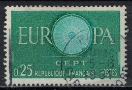FRANCE      N° YVERT  :     1266    ( 7 )         OBLITERE - France