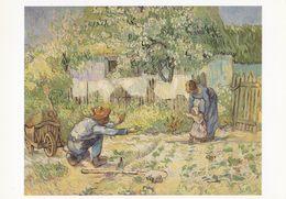 Art - Vincent Van Gogh - First Steps, 1890, The Metropolitan Museum Of Art, New York, NY, USA - Pintura & Cuadros