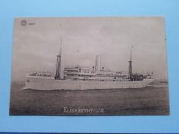 ELISABETHVILLE ( 667 - G. Hermans Anvers ) - Anno 19?? ( Voir Photo Details ) ! - Passagiersschepen