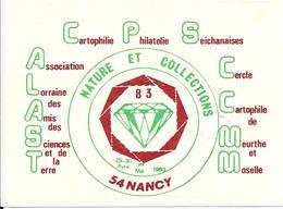NATURE ET COLLECTIONS 83 - 29-30 Avril-1er Mai 1983 NANCY - Bourses & Salons De Collections