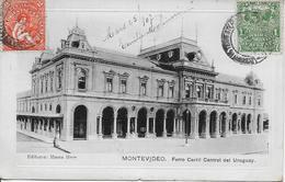 URUGUAY-MONTEVIDEO Ferro Carril Central Del Uruguay-MO - Uruguay