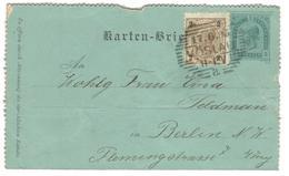10696 - Pour L'Allemagne - Ganzsachen