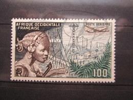 VEND BEAU TIMBRE DE POSTE AERIENNE D ' A.O.F. N° 19 , XX !!! - A.O.F. (1934-1959)