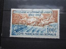 VEND BEAU TIMBRE DE POSTE AERIENNE DE LA COTE FRANCAISE DES SOMALIS N° 30 , XX !!! - Côte Française Des Somalis (1894-1967)