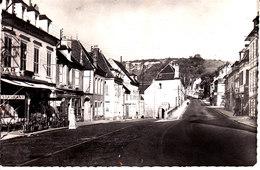 89 . Yonne :  Vermenton  : La Route Nationale . - Vermenton