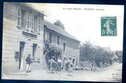 Cpa Du 23  Flayat -- La Poste -- La Creuse Illustrée        YN36 - France