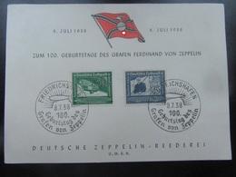 Gedenkblatt Zeppelin 1938 - Deutschland