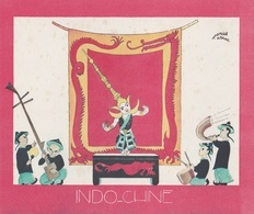 Aux Galeries Lafayette - Buvard- Les Colonies Françaises N° 5 INDOCHINE -  Illustration Marcel Arnac - Buvards, Protège-cahiers Illustrés