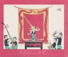 Aux Galeries Lafayette - Buvard- Les Colonies Françaises N° 5 INDOCHINE -  Illustration Marcel Arnac - Other