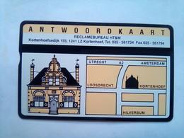 Antwoordkaart  4 Units - Netherlands